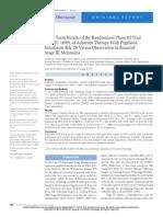 JCO-2012-Interferon- pegilado en melanomas.pdf