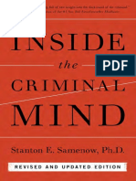 INSIDE THE CRIMINAL MIND, REVISED AND UPDATED EDITION (PAPERBACK) by STANTON SAMENOW--Excerpt