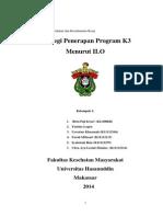 strategi penerapan program K3 menurut ILO