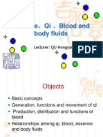 Essence,Qi Blood and Body Fluids