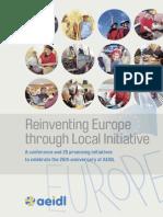 Reinventing Europe through Local Initiative