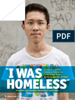 i was homeless