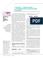 curious - and crucial - case of mathematical knowledge for teaching.pdf
