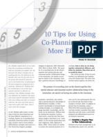 10 tips planning time