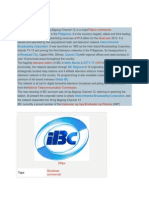 Intercontinental Broadcasting Corporation Articles