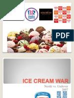 Ice-cream War Presentation