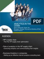 1-Analytics in the HP Supply Chain