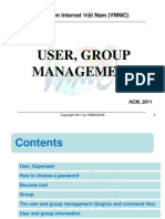 3. User and Group Management