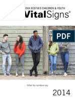 Nova Scotia's Child Youth Vital Signs 2014