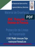 Unidad 7 - Protección de líneas de transmisión 2013.pdf