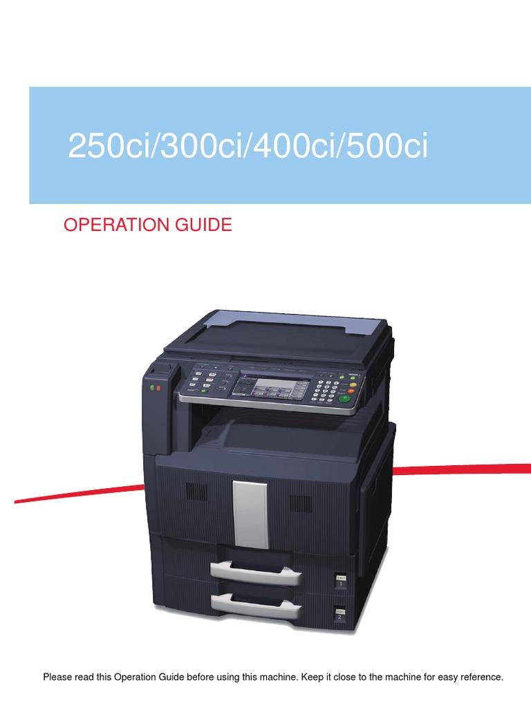 manual kyocera taskalfa 300ci