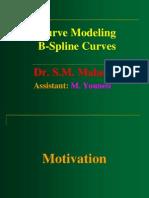 Curve Modelling-B Spline