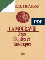 La Moldavie Et Ses Frontières Historiques