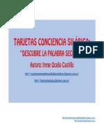 TARJETAS CONCIENCIA SILABICA PALABRA SECRETA.pdf