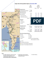 17Dec09 Burmese border refugee sites with population figures