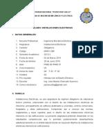 SILABO INSTALACIONES ELECTRICAS POR COMPETENCIAS CICLO 2013-II.doc