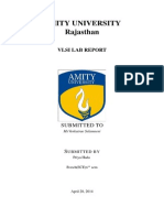Vlsi Report Using Latex