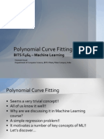 Polynomial Curve Fitting - NG