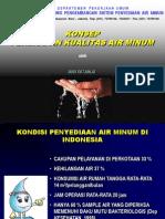 Evaluasi Penerapan Air Minum