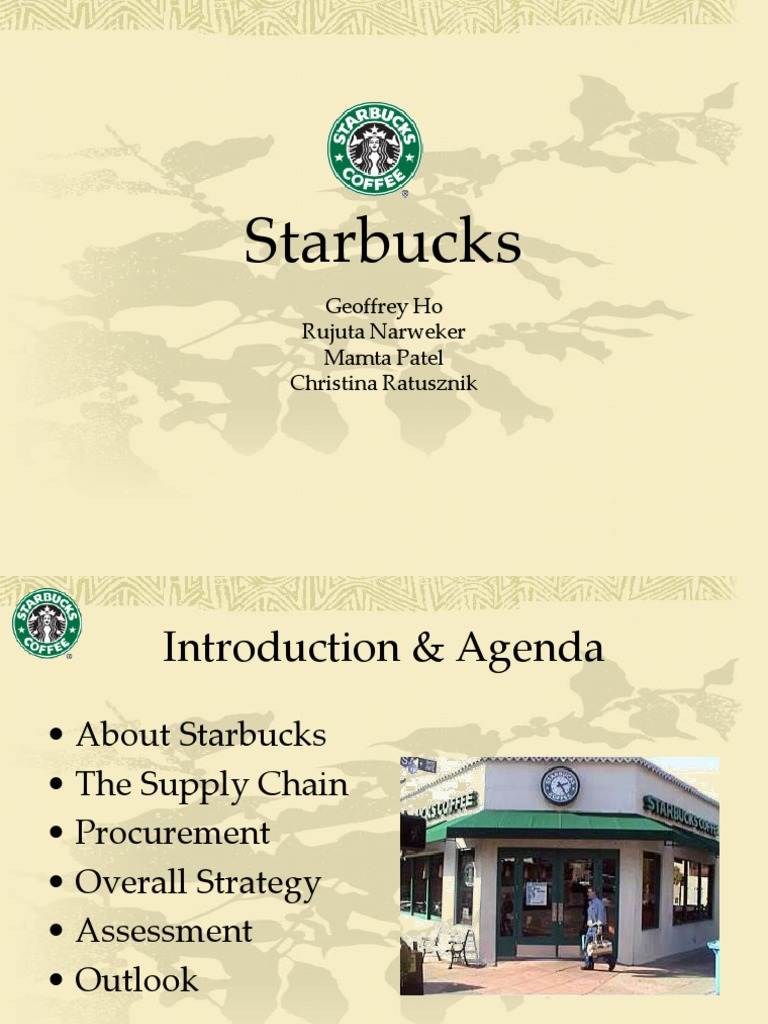 starbucks management function Controlling is the most obvious managing theories that starbucks applied starbucks has a very high standard and pursuit in the aspect of control, especially the quality of products.
