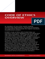 Overview Icaew Codeof Ethics Dl