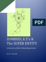 Zombies, E.T.'s & The Super Entity (M. A. Ricciardi)
