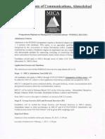 MICAT 2013 Sample Paper