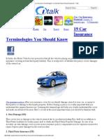 19 Car Insurance Terminologies You Should Know _ Royal Sundaram - ITalk