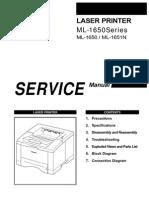Samsung Ml 1650 Xaasvc Service Manual