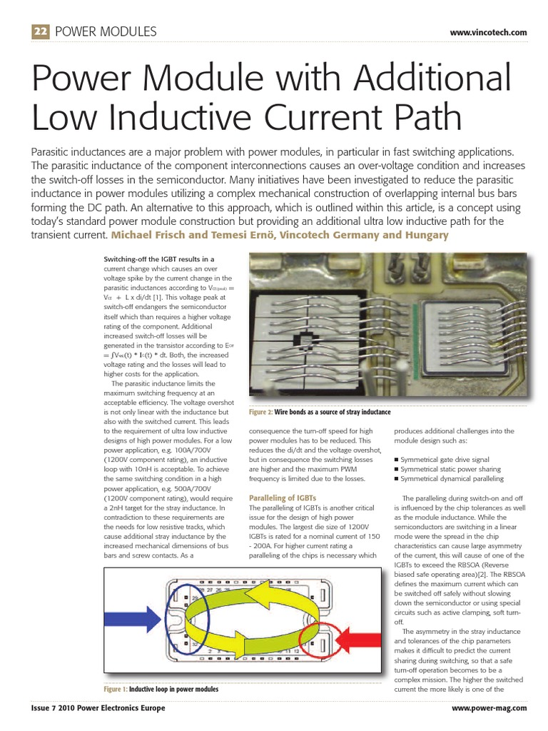 1289990779 Vincotech Layout 1 Power Inverter Electronics Is Unipolar Pwm Possible With A Half Bridge