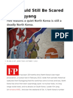You Should Still Be Scared of Pyongyang
