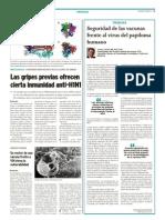 Seguridad de las vacunas frente al virus del papiloma humano