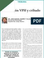Vacunación VPH y cribado