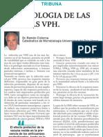 Inmunologia de las vacunas VPH