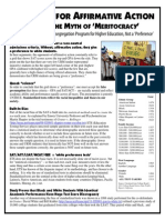Argument for Affirmative Action - Part 1