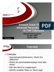 Enhance Oracle SSHR With Advanced Personalizations and OA FWK Extensions