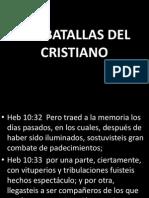BATALLAS DEL CRISTIANO.pptx