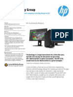 HP CASE STUDY - HP Z Workstations Enable Small Company to Do Big Things in AEC