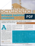 A Venturi scrubber used to clean gasifier syngas results in.pdf