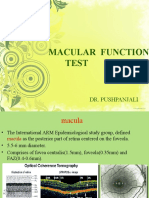 Macular Function Test