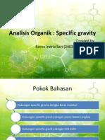 Analisis Organik