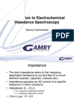 Basics of Electrochemical Impedance Spectroscopy