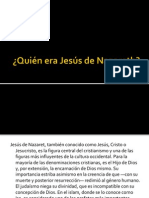 ¿Quien era Jesus de Nazareth?