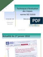 Services Conseils en Securite de l'information - Présentation sur la norme ISO 31010 ou encore ISO 31010.pdf