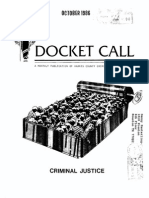 1986 October Docket Call