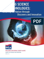 Emerging Science and Technologies