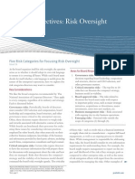 Board Perspectives - Risk Oversight, Issue 16, Five Risk Categories for Focusing Risk Oversight.pdf