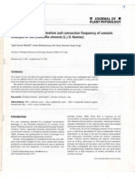 Factors Affecting Germination and Conversion...