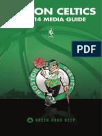 2013-14 - Celtics Media Guide