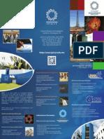 Tríptico institucional proyectos y servicios IPICYT